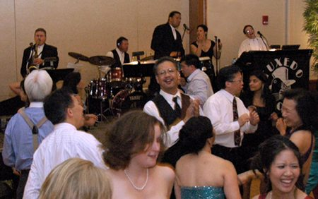Tuxedo Junction Band - unique among greater Boston wedding bands